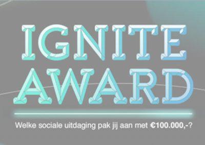 IGNITE Award voor startende sociale ondernemers