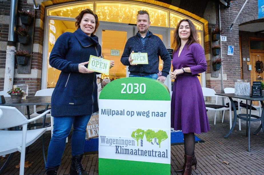 Succesvolle actie 'winkeldeuren dicht voor klimaat' krijgt Mijlpaal
