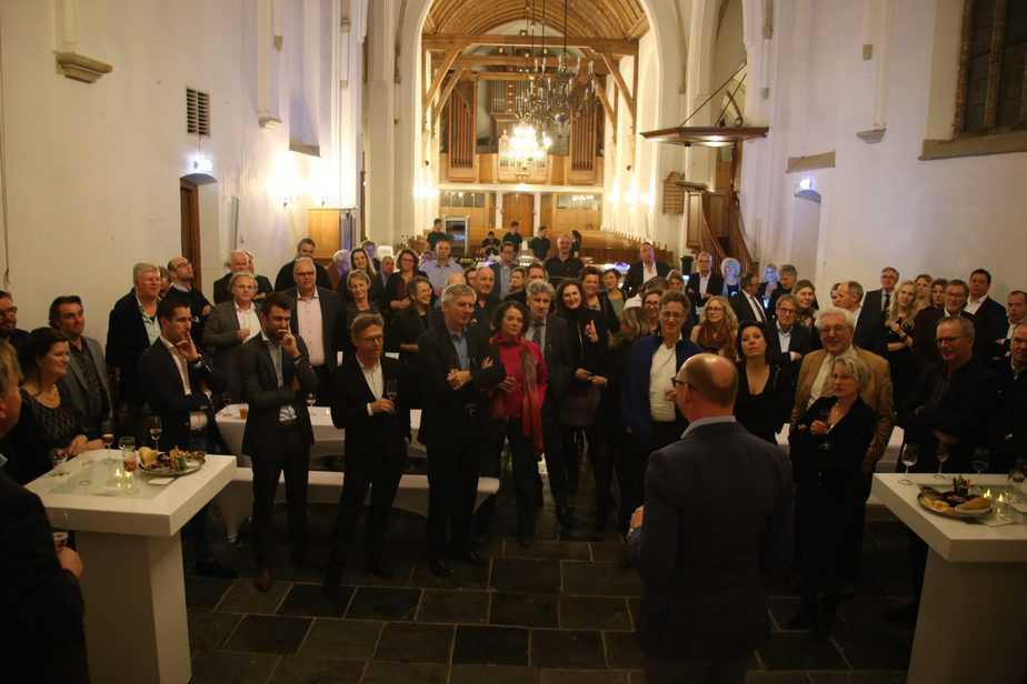 Mooi nieuwjaarsfeestje in de Grote Kerk