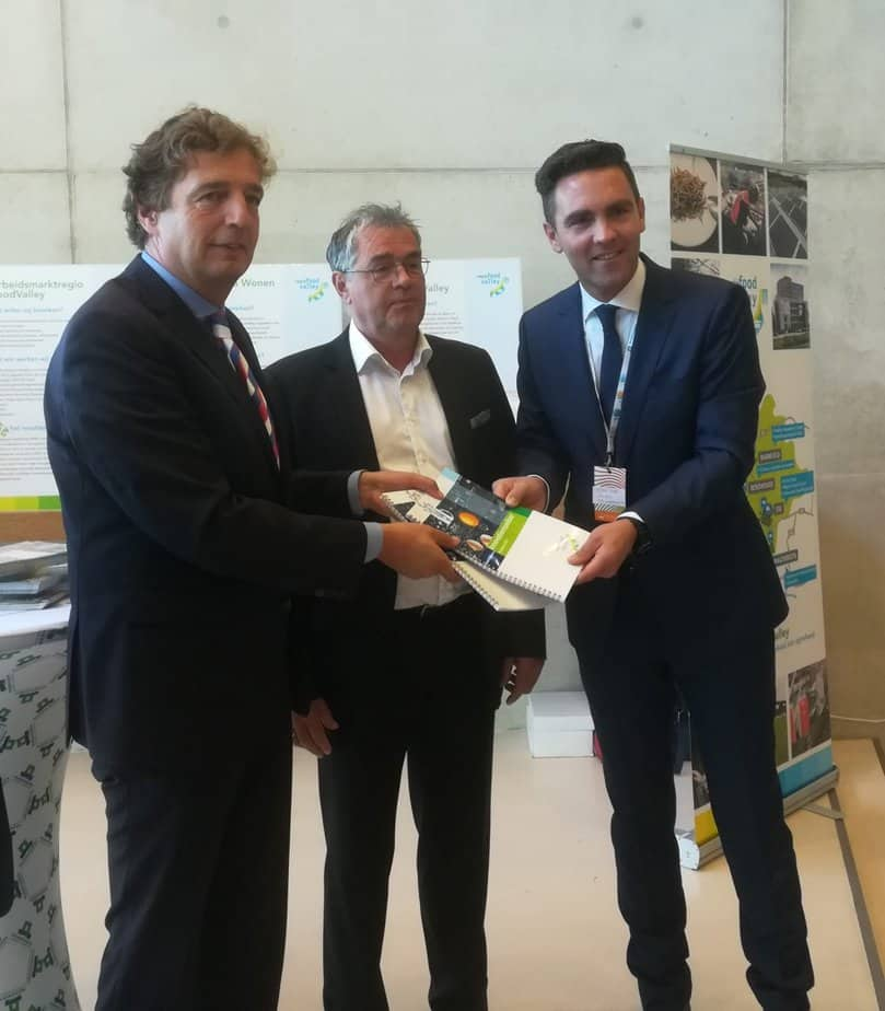 Ondernemers en Regio FoodValley starten met de innovatiemonitor