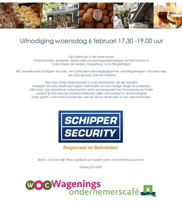 Wagenings Ondernemers Café op 6 februari