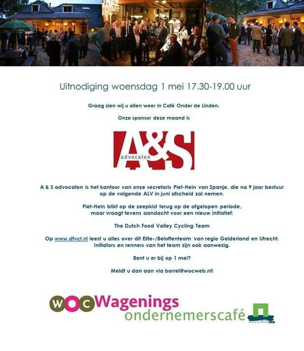 Wagenings Ondernemers Café 1 mei