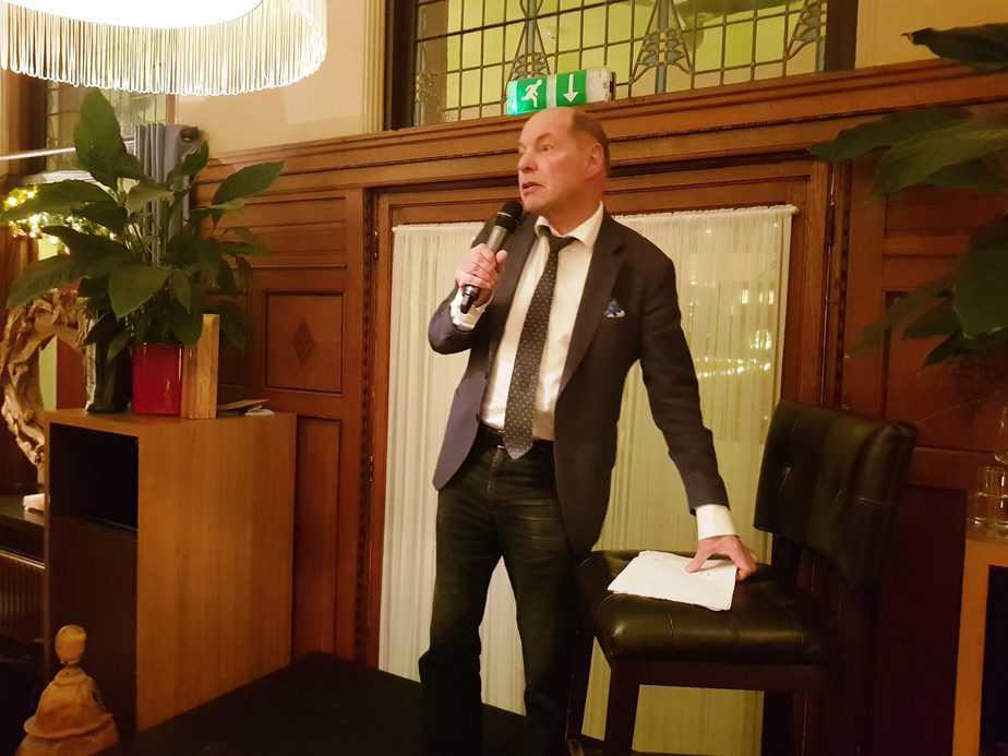 Ondernemerscafé met Wim Anker zorgt voor geslaagde avond