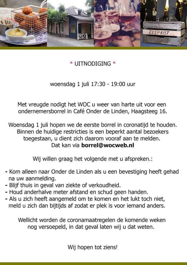 Wagenings Ondernemers Café 1 juli