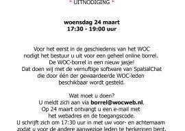 Digitale WOC borrel